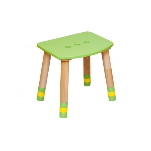 Taburet copii verde