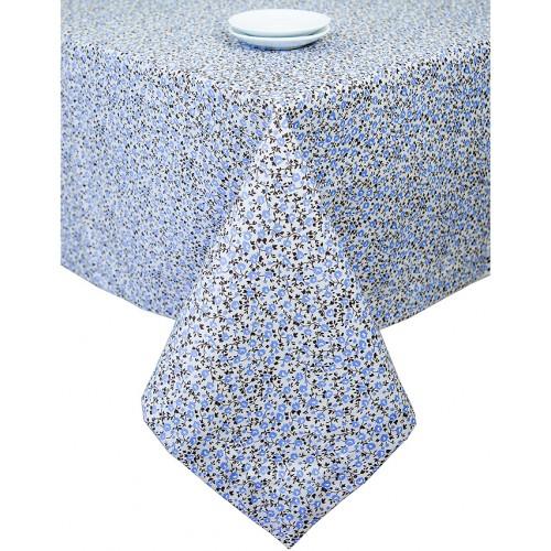 Fata de masa din bumbac Lavender Flowers, 180 x 140 cm
