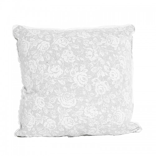 Perna decorativa White Rose, bumbac, 40x40 cm
