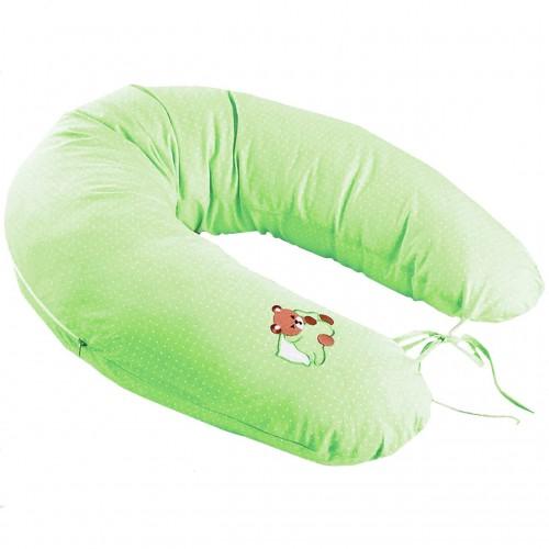 Perna pentru alaptat Idea, 30 x 170 cm, verde