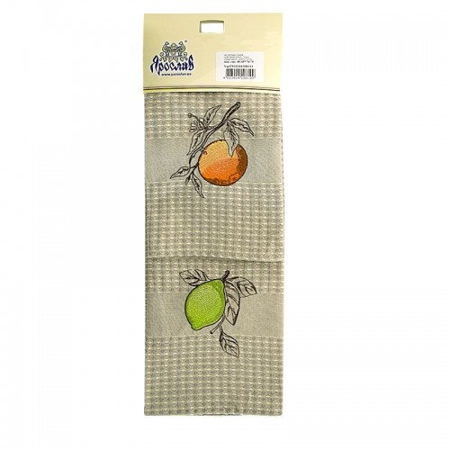 Set 2 prosoape de bucatarie Citrus, 100% bumbac, 45 x 70 cm